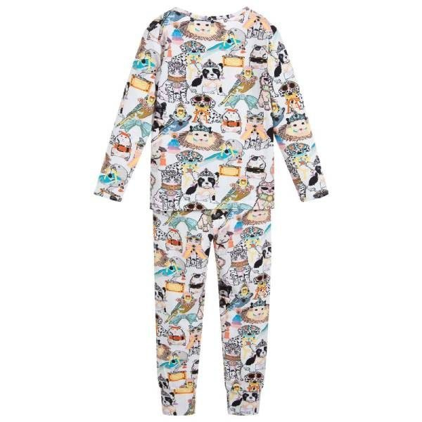 Molo Girls Cotton Jersey Pyjamas
