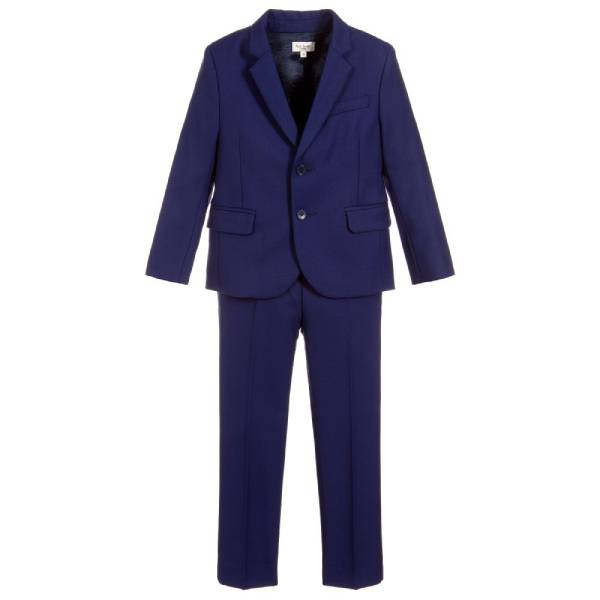Paul Smith Junior Boys Blue COSTUME Wool Suit