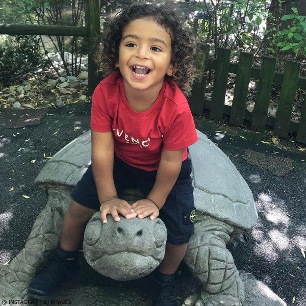 ASAHD KHALED - Givenchy Kids Boys Red Cotton T-Shirt