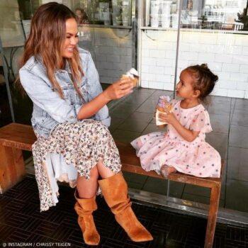 Luna Stephens Stella McCartney Kids Pink Embroidery Stars Dress