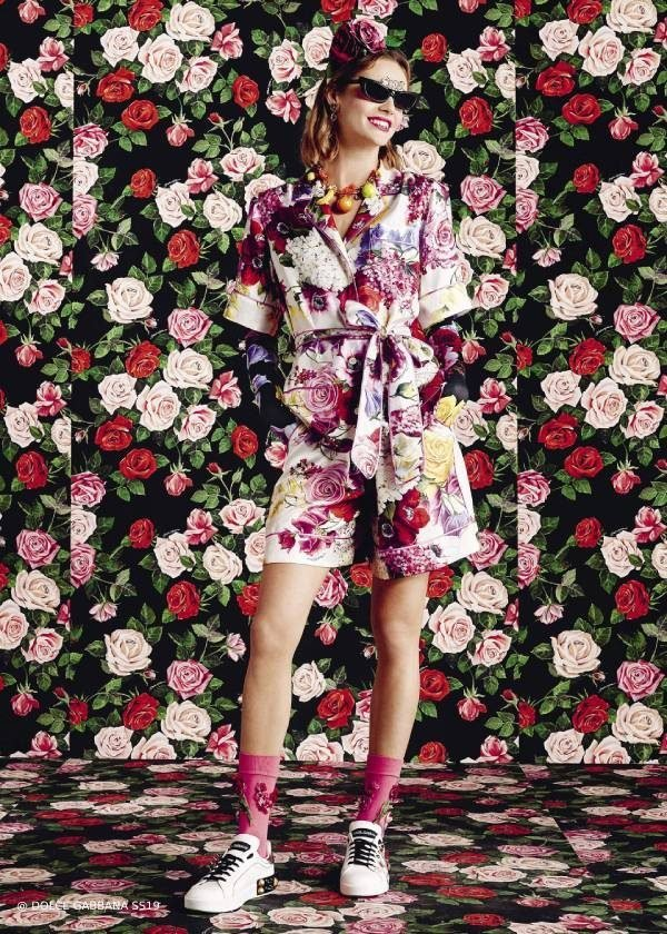 Dolce Gabbana Women Spring Summer 2019 Flower Mix Collection