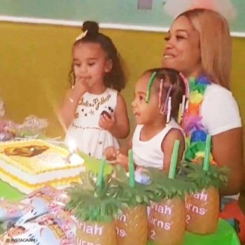 Dream Kardashian Ariah Birthday Party DOLCE & GABBANA Baby Girl Amore e Fantasia Dress