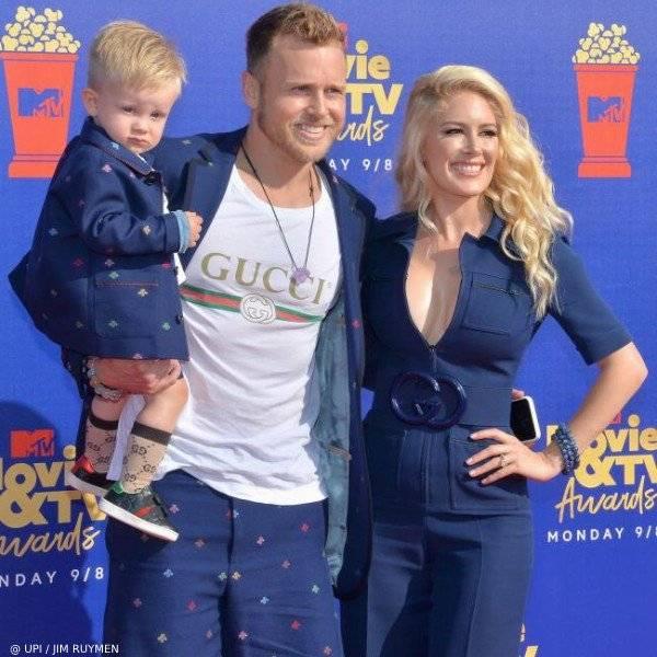 Gunner Pratt, Spencer Pratt and Heidi Montag - MTV MOVIE TV AWARDS-2019