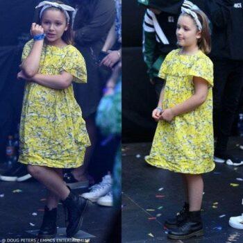 Harper Beckahm Capital FM Summertime Ball Bonpoint Laura Acid Yellow Dress