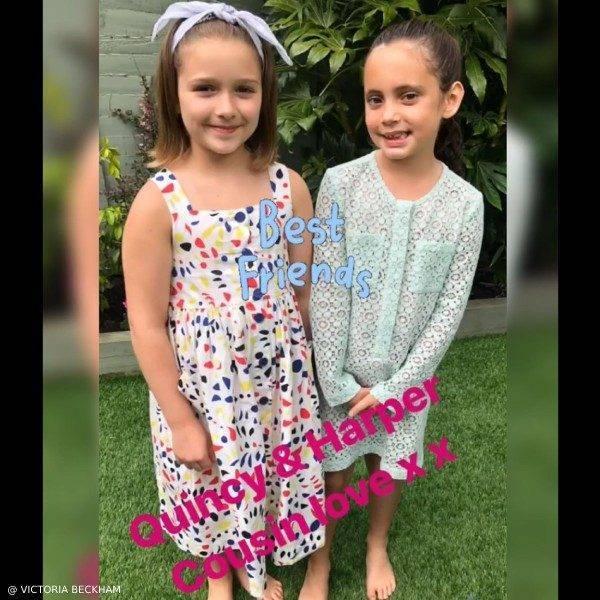 Harper Beckahm Cousin Quincy Bonpoint Laly Multicolor Dress
