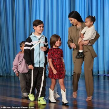 Mason Penelope Chicago Kourtney Kardashian Kids on Ellen May 2019