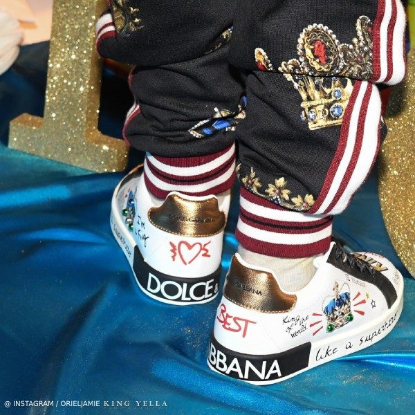 Offset Son Kody 4 year old birthday Dolce Gabbana King Shoes