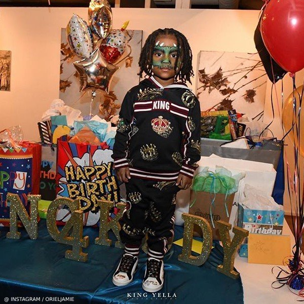 Offset Son Kody 4 year old birthday Dolce Gabbana King Sweatshirt