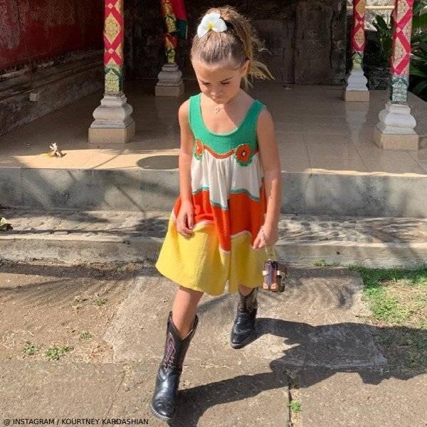 Penelope Disick - STELLA MCCARTNEY KIDS Girls Cotton KIARA Dress
