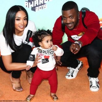 Princess Love Ray J Daughter Melody Dolce Gabbana Mini Me Fashion Devotion Sweatshirt
