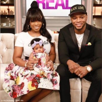Remy Ma Papoose Baby Reminisce MacKenzie The Real Dolce Gabbana Floral Dress