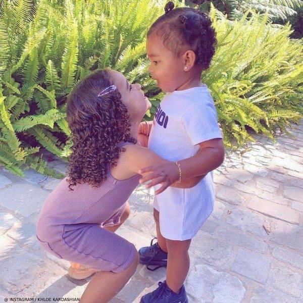 True Thompson Dream Kardashian Fendi Mania Baby White Logo Shortie Gift Set