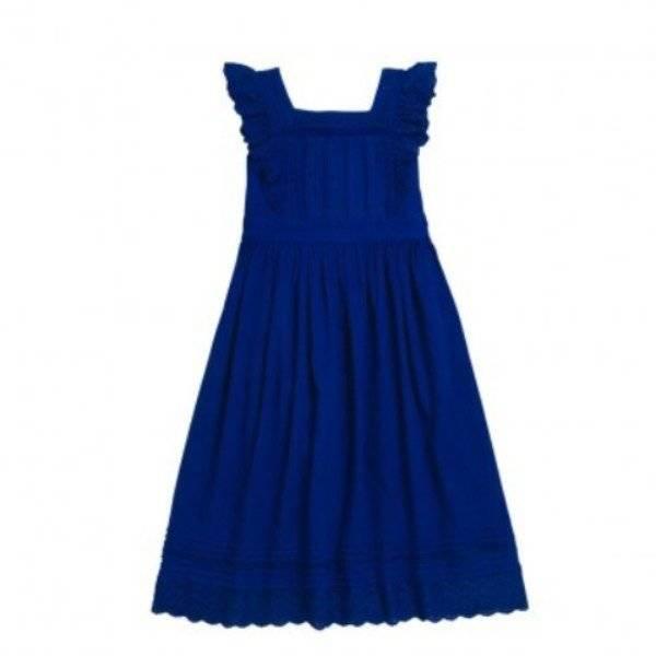 BONPOINT LILOA Blue DRESS