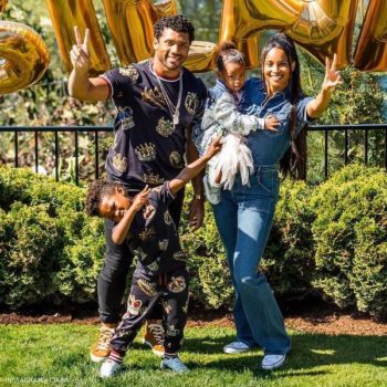 Ciara's Family Celebrates Sienna's 2 Birthday Dolce Gabbana Mini Me King Look