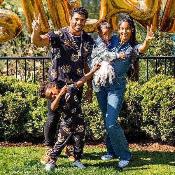 Ciara's Family Celebrates Sienna's 2 Birthday Dolce Gabbana Mini Me King Look