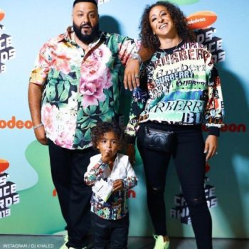 DJ Khaled Asahd Nickelodean Kids Choice Awards 2019 (1)