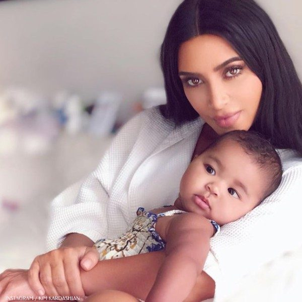 Kim Kardashian True Thompson Daughter of Khloe Kardashian - Dolce Gabbana Baby Girl Majolica Shortie