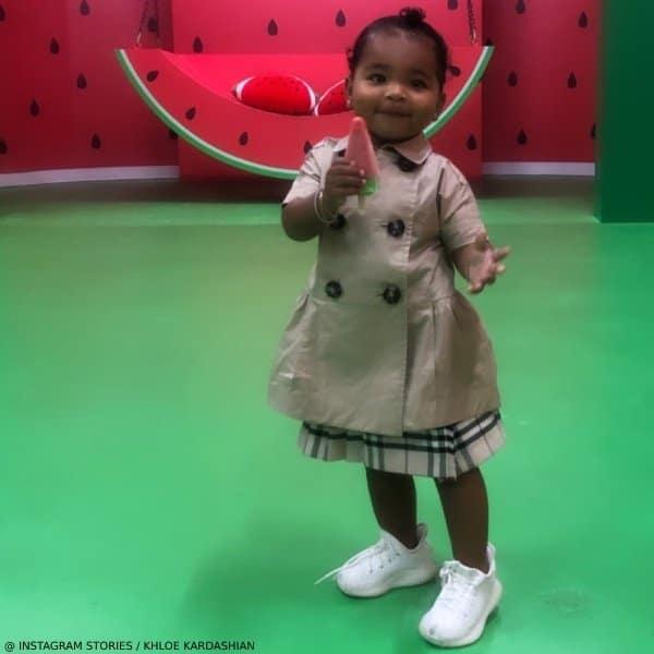 True Thompson - Burberry Baby Girls Beige Cotton Trench Dress
