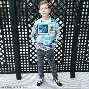 Actor Jacob Tremblay Molo Space Navigation Madsim Sweatshirt