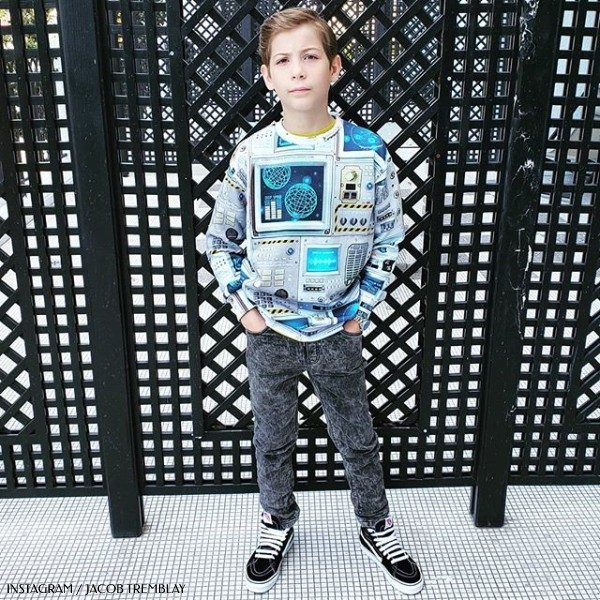 Actor Jacob Tremblay Molo Space Navigation Madsim Sweatshirt