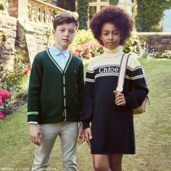 Chloe Girls Blue White Turtleneck Dress Boys Mayoral Green Cardigan Sweater