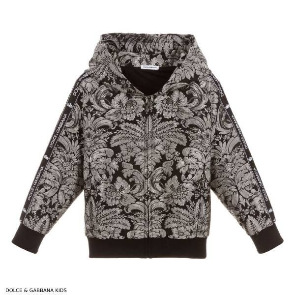 Dolce Gabbana Boys Mini Me Silver Black Jacket