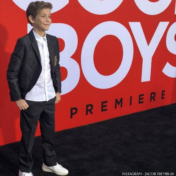 Jacob Tremblay Good Boys Premiere - Dolce Gabbana Boys Mini Me Crown Logo DNA Trend Suit