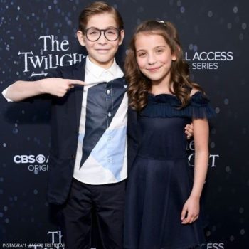 Jacob Tremblay The Twilight Zone Armani Boys Suit