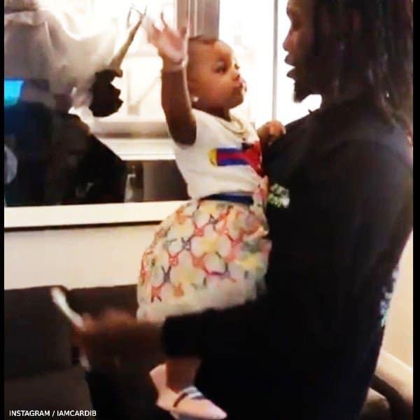 Offset Daughter Kulture Gucci Baby Girl Strawberry Tshirt Rainbow GG Logo Skirt