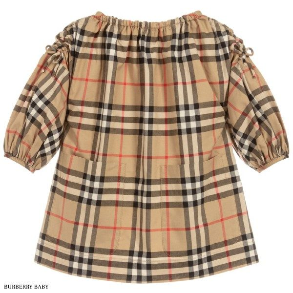 Burberry Baby Girls Cotton Check Dress