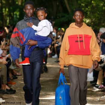 Balenciaga Kids White Loogo Sweatshirt Blue Joggers Red Speed Sock Shoes