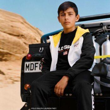 Polo Ralph Lauren Boys Black Polo Sport Sweatshirt Sweatpants Streetwear Outfit