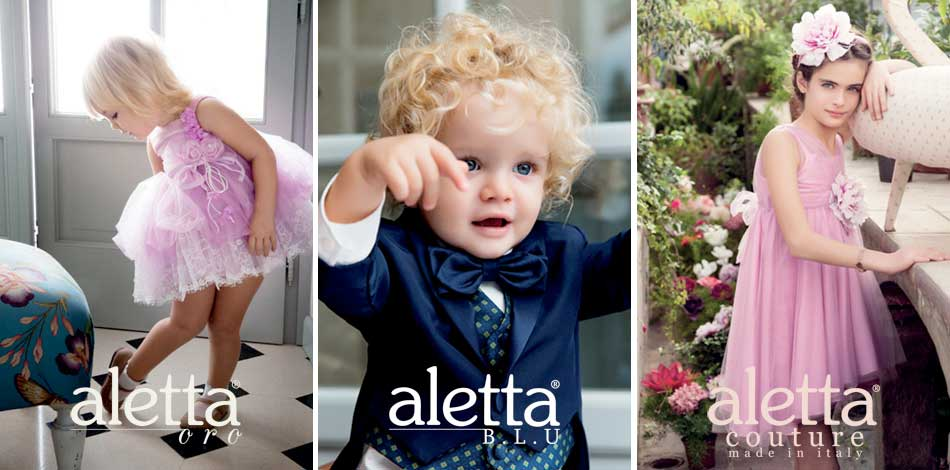 Aletta Designer Kids Clothes from Italy