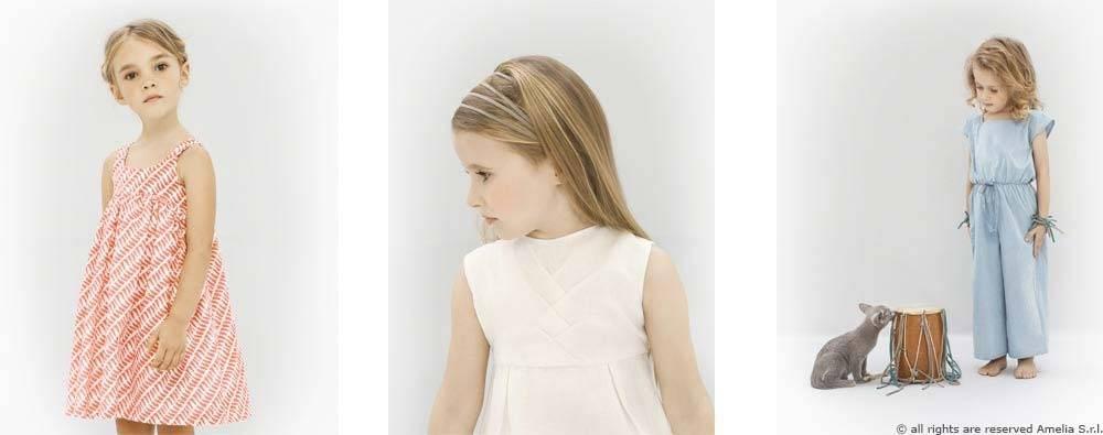 Amelia Milano GIrls Clothes italy