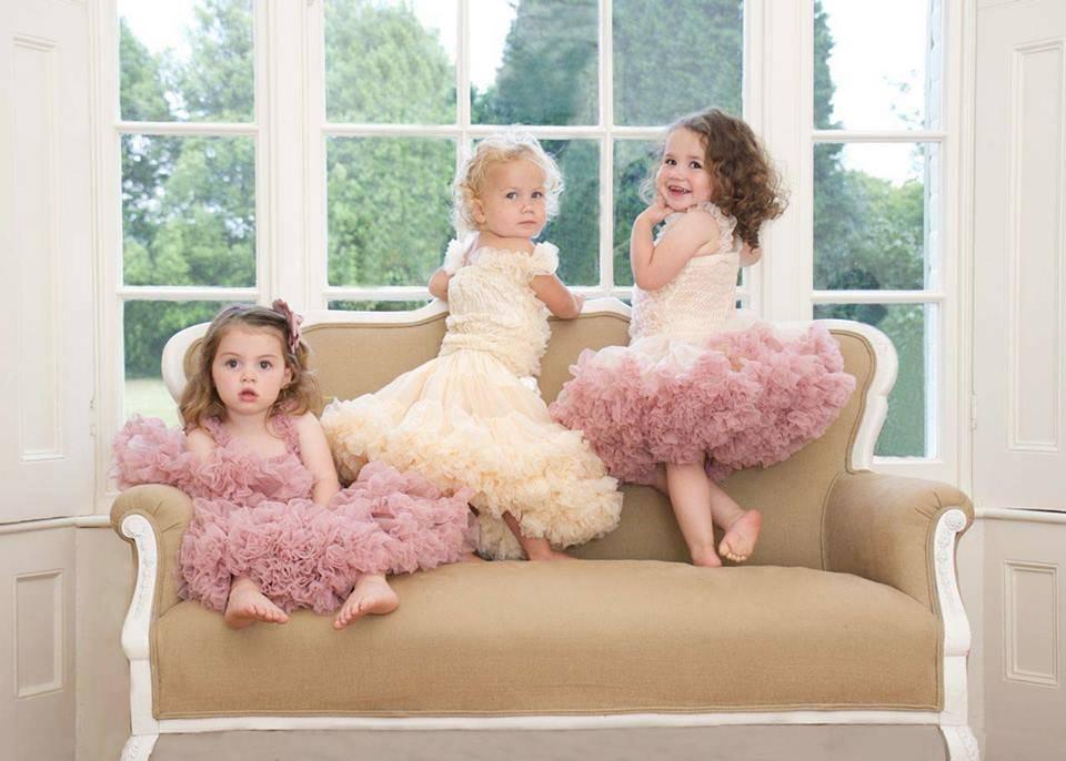 angels face little girls pettiskirts