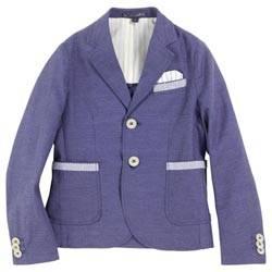 aston martin Indigo blue herringbone jacket