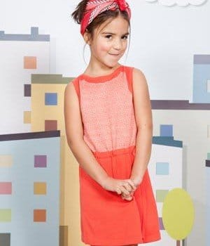 Aymara Spring Summer-2013 Girls Orange Dress
