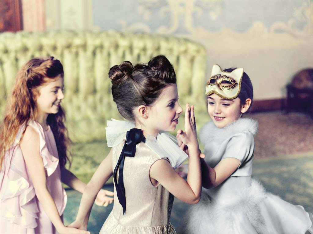 baby dior girls party dress fall winter 2014
