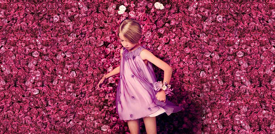Baby Dior Girls Summer Dress