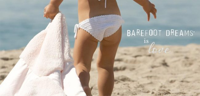 barefoot dreams girls beachwear