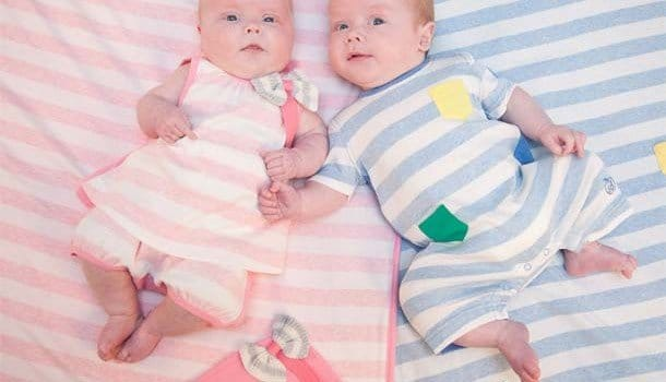 Bonnie Baby Striped Spring Summer 2013 Outfit