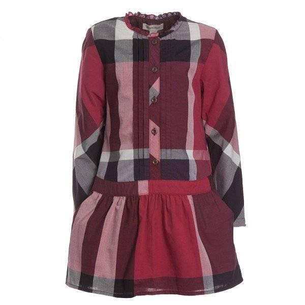Burberry Girls Red Dress