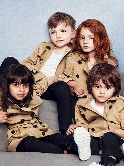 burberry kids fall winter 2014