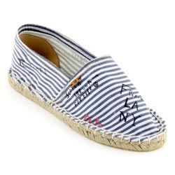 scotch soda Blue and white rope soled shoes