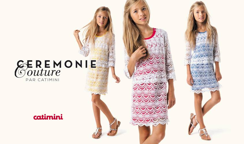 Catimini Girls Clothes France