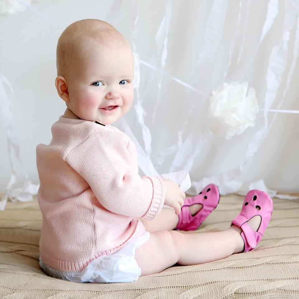 Cheeky Little Soles Girls Baby Shoes