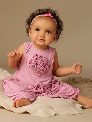 Kashka by KidCuteTure pink baby dress