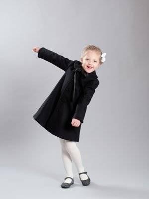 Lepold and Livia girls dress coat 2013