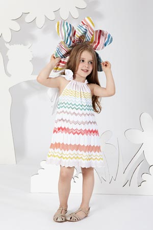 MISSONI girl candy dress summer 2014