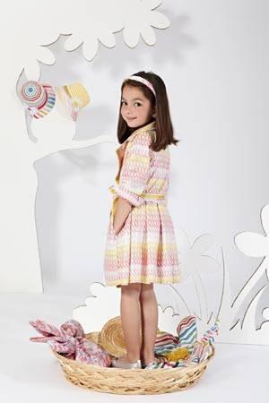 MISSONI girl classic dress